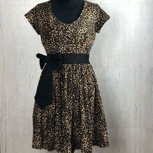 Deadly Dames Dresses - Deadly Dames Animal Print Dress